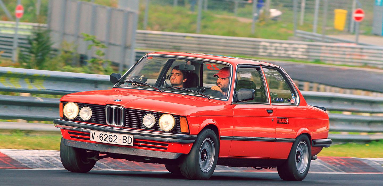 Dossier: Desde Valencia hasta Nürburgring en un BMW E21 315